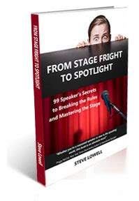 Essay on how to overcome stage fear